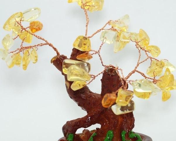 денежное дерево с цитрином