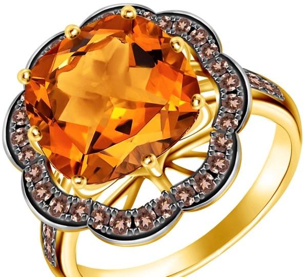 Перстень с сапфиром