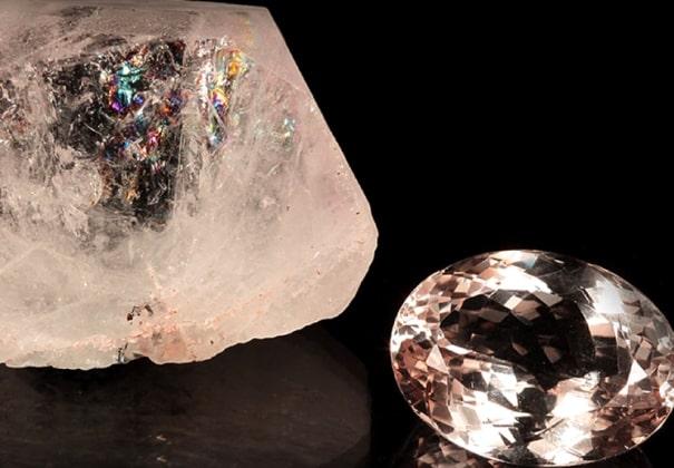 кристалл морганита