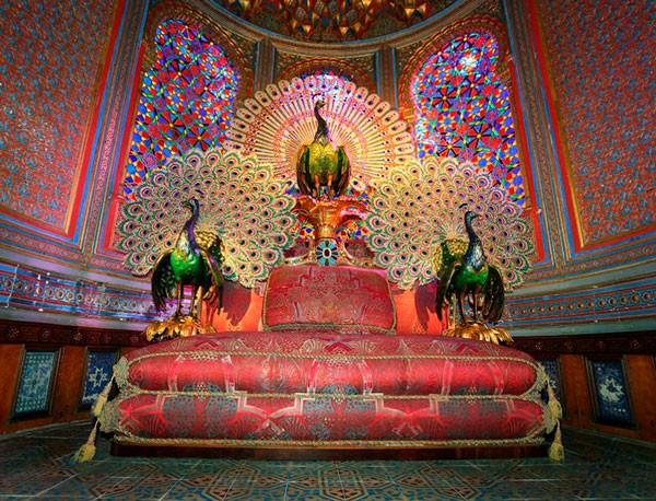 павлиний трон