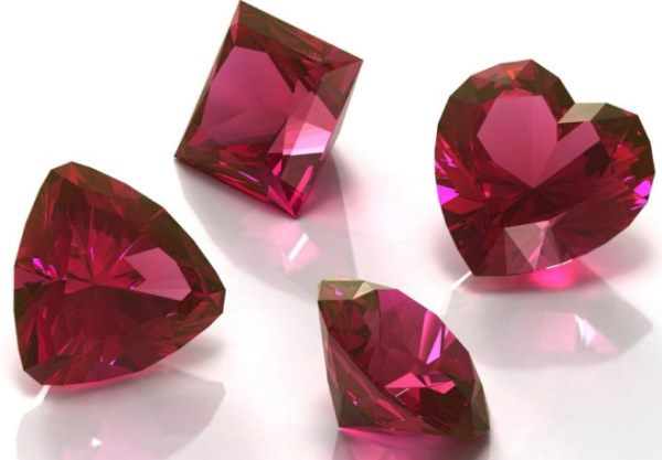 розовый родолит фото