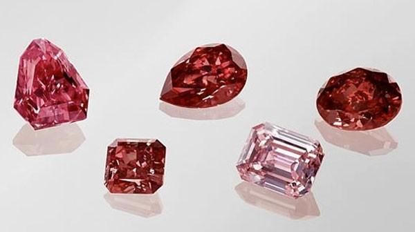 красные бриллианты