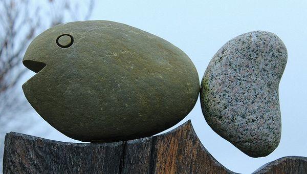 Камень-рыба