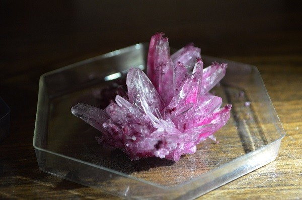 Выращивание кристаллов из сахара