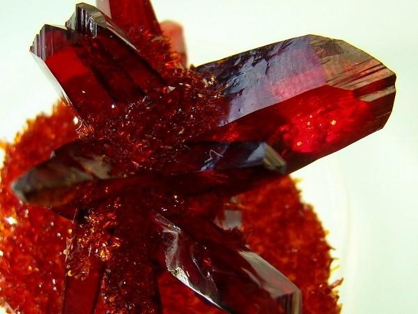 Выращивание рубина из красной кровяной соли