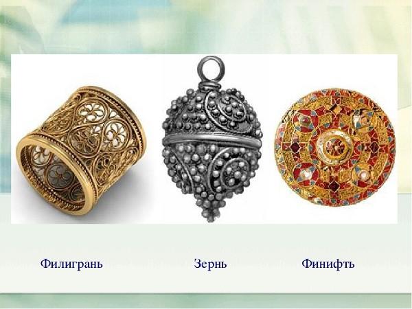 Зернь и скань Древней Руси