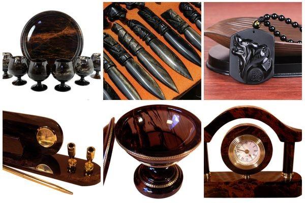 Сувениры и изделия из обсидиана