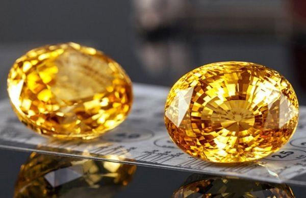 Физические свойства желтого топаза