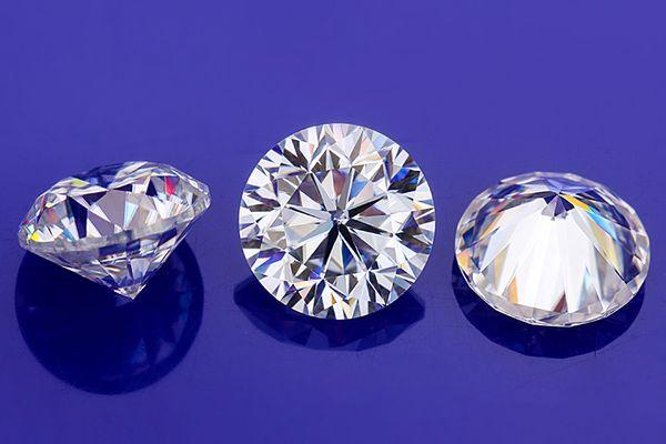 Круглая форма огранки алмазов