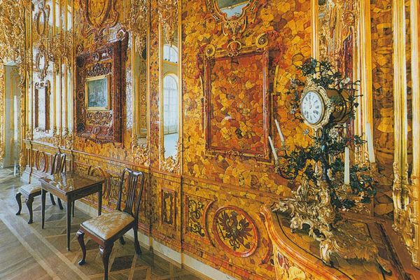 Янтарная комната в эпоху Екатерины II