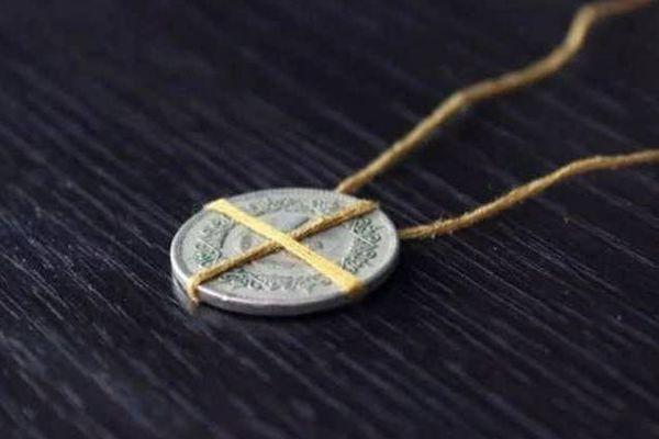 Амулет из монеты