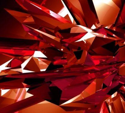 Камни красного цвета