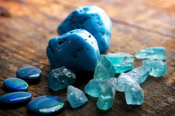 оттенки голубого цвета